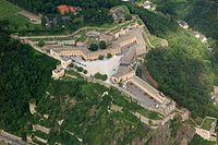 Aerial Festung Ehrenbreitstein