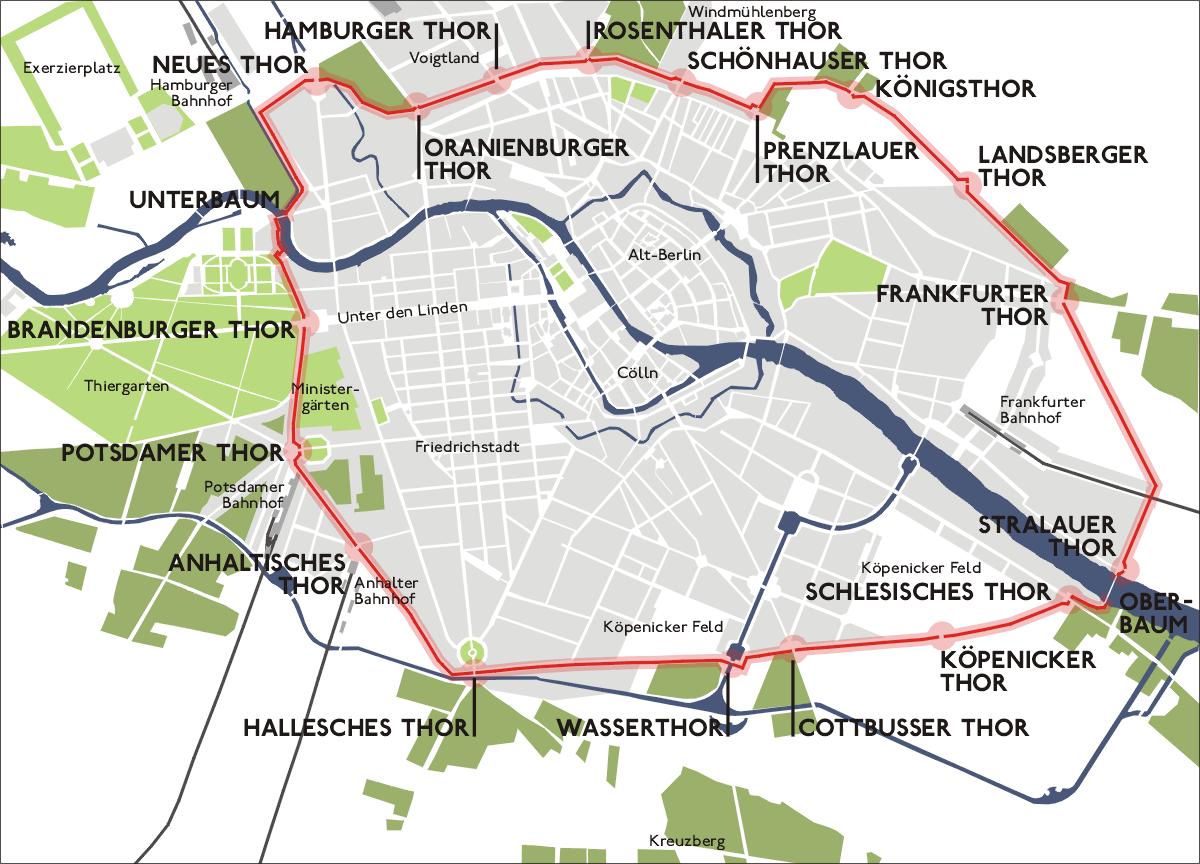 Brandenburg Gate Map Brandenburg Gate Started