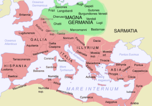 map Germania