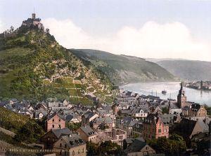 Rhine Trip Marksburg