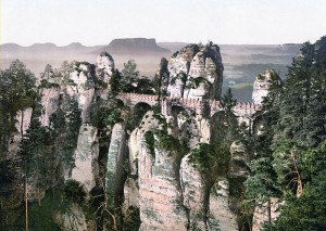 Bastei around 1900