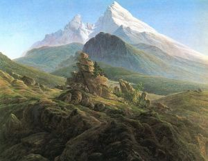 773px-Watzmann by Caspar_David_Friedrich_012