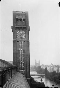 München, Größes Thermometer Deutschlands