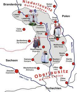 Sorben map
